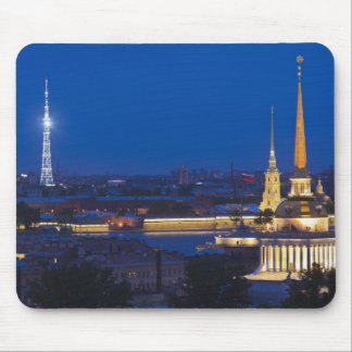 Elevated view of the Television Tower Mouse Pads