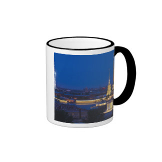 Elevated view of the Television Tower Coffee Mug