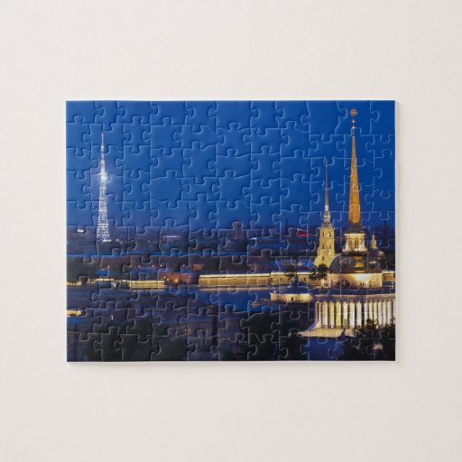 Elevated view of the Television Tower Jigsaw Puzzle