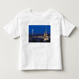 Elevated view of the Television Tower Toddler T-Shirt