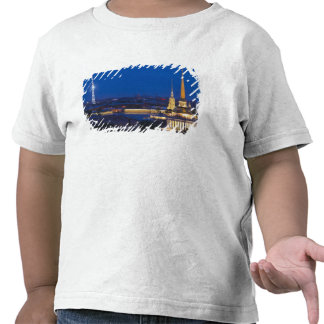 Elevated view of the Television Tower T Shirt