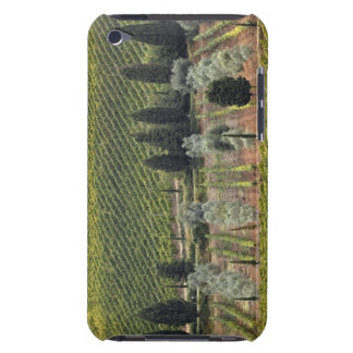 Elevated view of vineyard and olive trees iPod Case-Mate case