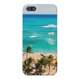 Elevated View Of Waikiki Beach Scene, Honolulu 2 iPhone 5/5S Cover