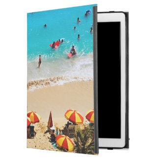 "Elevated View Of Waikiki Beach Scene, Honolulu iPad Pro 12.9"" Case"
