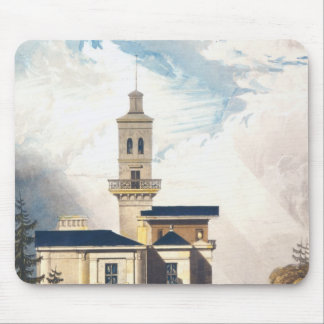 Elevation of an Italian Villa or Hunting Lodge Mouse Mat