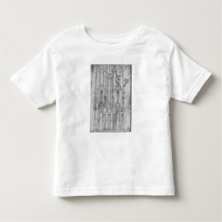 Elevation of the tower of Laon Cathedral Toddler T-Shirt