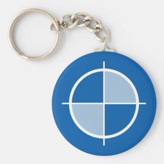 Elevation Symbol Keychain (light)