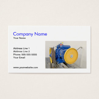 Elevator Engine Business Card Template