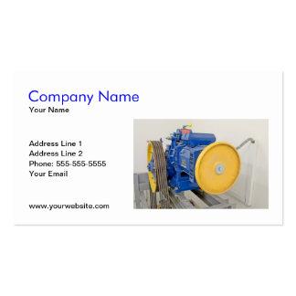 Elevator Engine Business Card Template