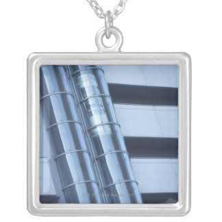 Elevator Silver Plated Necklace