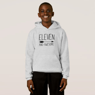 Eleven And Awesome 11th Birthday Gift (Light)