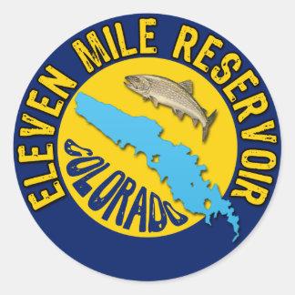 Eleven Mile Reservoir Colorado Sticker
