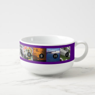 Eleven of Your Photos to Make Your Own Momento Soup Bowl With Handle