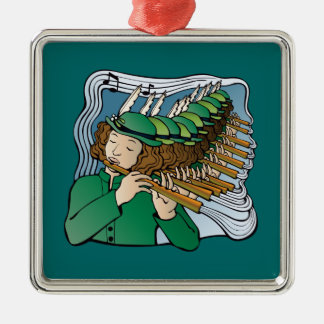 Eleven pipers piping christmas ornament