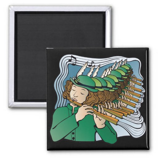 Eleven pipers piping magnets