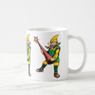 Elf and Christmas Tree Topper Mugs
