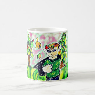 Elf art two coffee mug