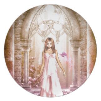 Elf Bride Plate