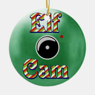 Elf Cam Christmas Ornament/Elf Camera North Pole Christmas Ornament