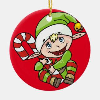 Elf Christmas Ornament