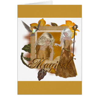 Elf Designs :: Magical by MarloDee Greeting Card