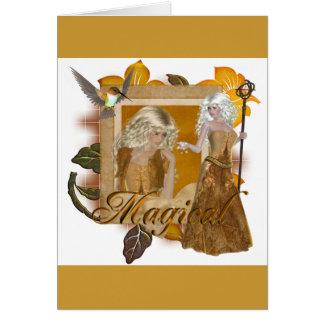 Elf Designs :: Magical by MarloDee Greeting Card