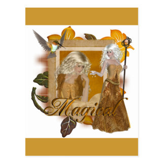 Elf Designs Magical by MarloDee Post Cards
