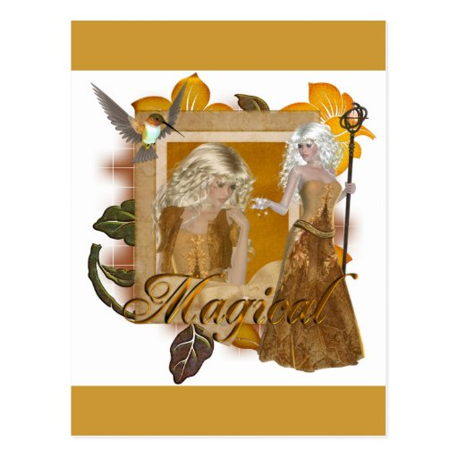 Elf Designs :: Magical by MarloDee Post Cards