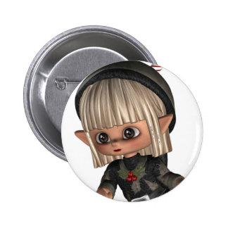 Elf for Christmas Pin
