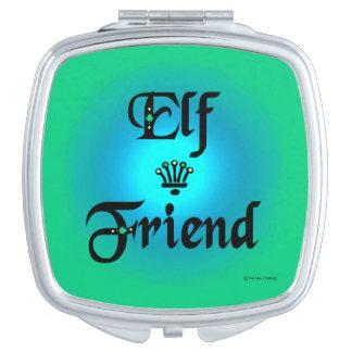 """Elf Friend"" Compact Mirror"