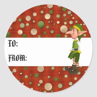 Elf Gift Tag