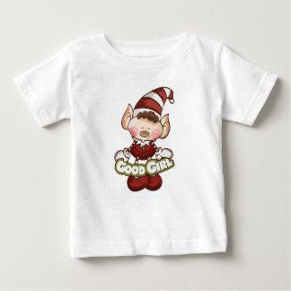 "Elf Girl - ""Good Girl"" Baby T-Shirt"