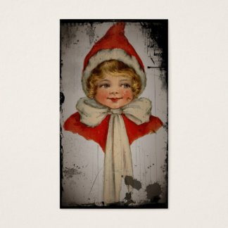 Elf Girl in a Red Cape