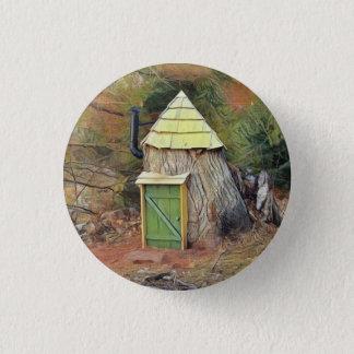 Elf House 3 Cm Round Badge