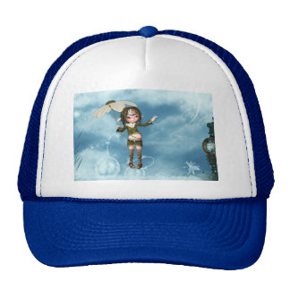Elf in the Clouds Cap