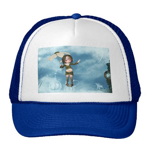 Elf in the Clouds Mesh Hats
