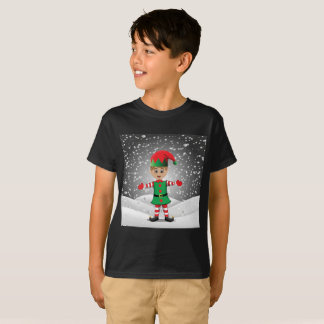 Elf in the snow T-Shirt