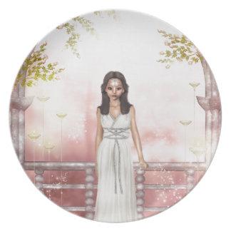 Elf Lady Awaiting Plate
