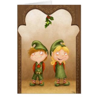 Elf Love Card