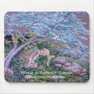 Elf Nap, Elf Nap, by Darlene P. Coltrain, www.O... Mouse Pad