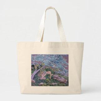 Elf Nap, Elf Nap,  Darlene P. Coltrain, www.Or... Canvas Bags