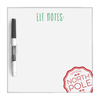 Elf Notes White Board