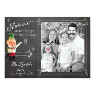 Elf on Shelf  | Holiday Photo Card