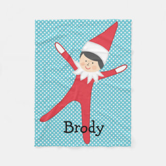 Elf on the Blanket Personalized