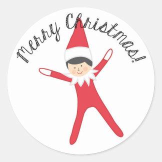 Elf on the Sticker