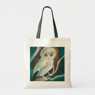 Elf Owl On Autumn Branch Bags