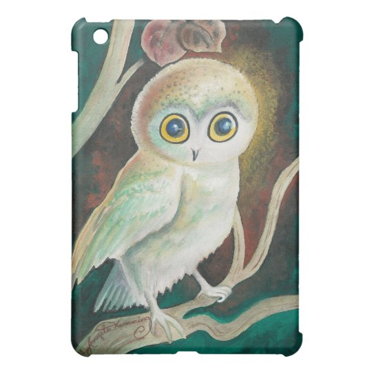 Elf Owl On Autumn Branch Cover For The
