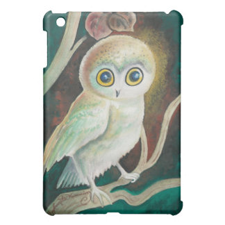 Elf Owl On Autumn Branch iPad Mini Cases