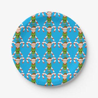 Elf Paper Plates