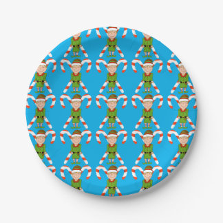 Elf Paper Plates 7 Inch Paper Plate